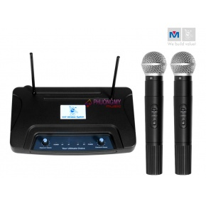 Better Music Builder VM-22 Dual Channel Wireless Microphone System