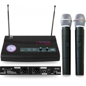 Better Music Builder VM-28 Dual Channel Wireless Microphone System
