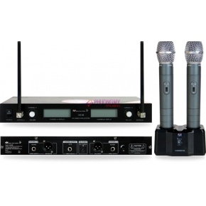 Better Music Builder VM-88 Dual Channel Wireless Mic System